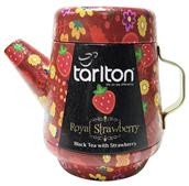 TARLTON Tea Pot Royal Strawberry Black Tea plech 100g