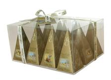 TEA OF LIFE - Prism Collection  12x2g (Pyramidové sáčky v zlatém obalu)