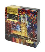 Ahmad Tea plechovka Timeless Collection MALÝ 32 sáčků