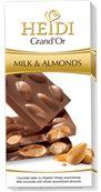 HEIDI Grand´Or Milk & Almonds 100g