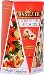 BASILUR Herbal Infusions Rosehip & Hibiscus 15x2g