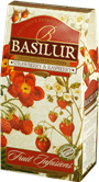 BASILUR Fruit Strawberry & Raspberry papír 100g