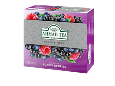 Ahmad Tea Fruit & Herb Infusion  FOREST BERRIES 75 x 1,8g