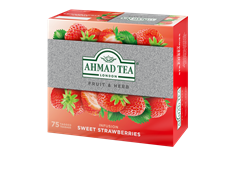 Ahmad Tea Fruit & Herb Infusion  SWEET STRAWBERRIES 75 x 1,8g