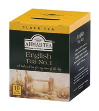 AHMAD TEA - ALU přebal  -  10x2g English Tea No.1 černý čaj