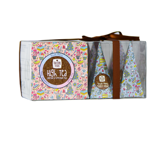 McCoy Teas Pyramid Tea Box 12x2g 4x4x2g HIGH TEA